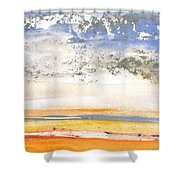 Early Morning 27 Shower Curtain