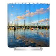 Early Morning 8768 Shower Curtain