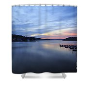Early Morning At Lake Of The Ozarks Shower Curtain