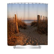 Early Morning At Myrtle Beach Sc Shower Curtain