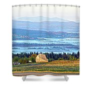 Early Morning At Sentinel Rock Shower Curtain