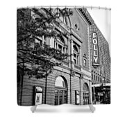 Early Morning At The Folly B/w Shower Curtain