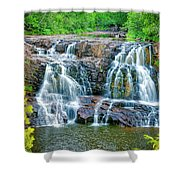 Early Morning At The Upper Falls Shower Curtain