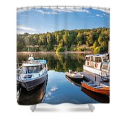 Early Morning Cruises To Doubtfull Sound Shower Curtain