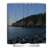 Early Morning In Acadia Shower Curtain