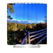 Early Morning Light Shower Curtain