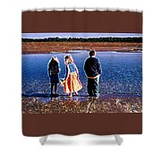 Early Morning Moment Pd  Shower Curtain