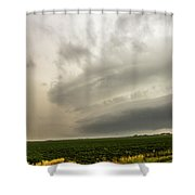 Early Morning Nebraska Storm Chasing 012 Shower Curtain