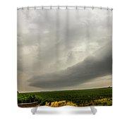 Early Morning Nebraska Storm Chasing 014 Shower Curtain