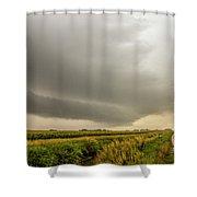 Early Morning Nebraska Storm Chasing 016 Shower Curtain