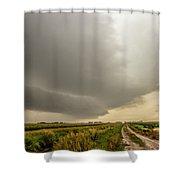 Early Morning Nebraska Storm Chasing 017 Shower Curtain
