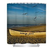 Early Morning Ocean City Nj Shower Curtain