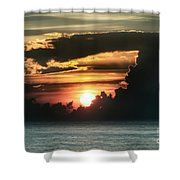 Early Morning Orb Shower Curtain