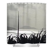 Early Morning Over Sugar Beach Shower Curtain