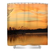 Early Morning Shower Curtain