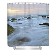 Early Morning Seas Shower Curtain