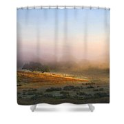 Early Morning Sunrise Shower Curtain