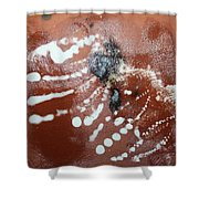 Early Riser - Tile Shower Curtain