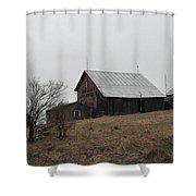 Early Spring Farm Shower Curtain