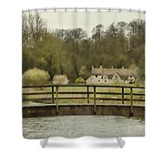 Early Spring In The Counties Shower Curtain