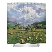 Early Summer Cutting Shower Curtain by Marlene Gremillion