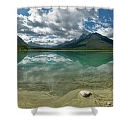 Early Summer Day On Goat Pond Shower Curtain