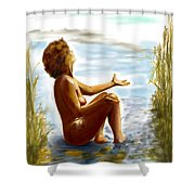 Early Summer In Bavaria Shower Curtain