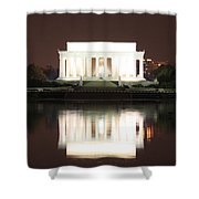 Early Washington Mornings - Lincoln Reflecting Shower Curtain