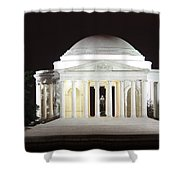Early Washington Mornings - The Jefferson Memorial Shower Curtain