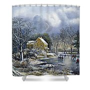 Early Winter, 1869 Shower Curtain
