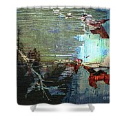 Earth Abstract Shower Curtain
