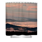 Earth And Sky. Shower Curtain by Itai Minovitz