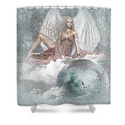 Earth Angel 2 Shower Curtain
