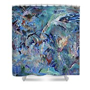 Earth Art Shower Curtain