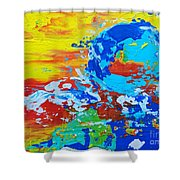 Earth, As Is 2 Shower Curtain
