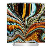 Earth Bloom Shower Curtain