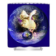 Earth Chick Shower Curtain