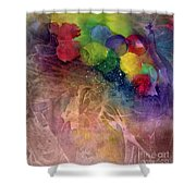 Earth Emerging Shower Curtain