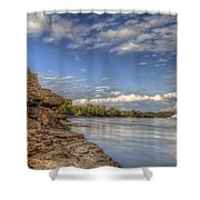 Earth, Sky And Water Shower Curtain