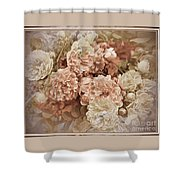 Earth Toned Roses Shower Curtain