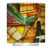 Earth Tones 1 Shower Curtain