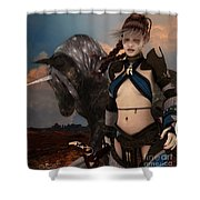 Earth Warden Shower Curtain