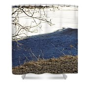 Earth Water And Ice Shower Curtain