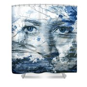 Earth Wind Water Shower Curtain by Christopher Beikmann