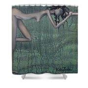 Earth Woman Shower Curtain