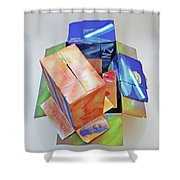 Earthquake 2 Shower Curtain