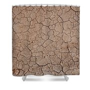 Earth's Crust II Shower Curtain