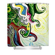Earths Tears Shower Curtain