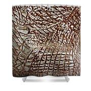 Earths Yield - Tile Shower Curtain