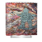 Earthwaves Inukshuk Shower Curtain